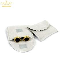 Модная Высококачественная бархатная сумка/сумка для ювелирных изделий, 6 шт., 5x6 см, рождественские, свадебные подарочные сумки и сумки