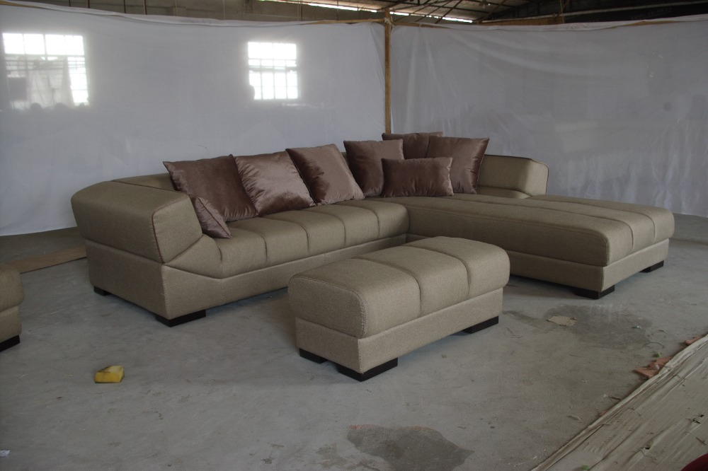 8058# high quality factory price sofa Living room sofa sets fabric soft corner sofa sets cloth sofa home furniture modern style furniture russia sectional fabric sofa living room l shaped fabric corner modern fabric corner sofa shipping to your port