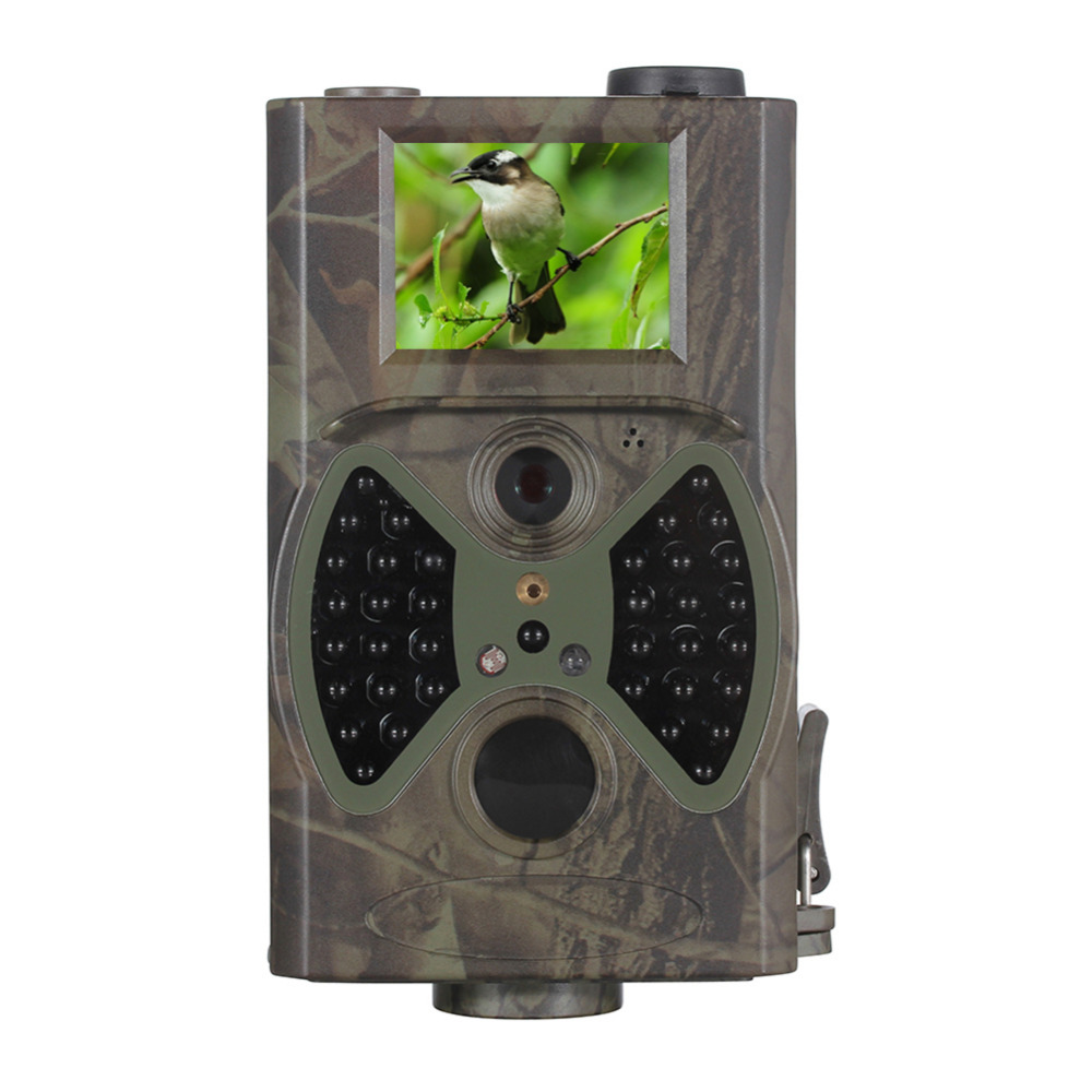 HC-300A Digital Hunting Trail Camera Video Scouting Infrared HD 12MP 60 Degrees PIR Sensor Sight Angle 12mp trail camera gsm mms gprs sms scouting infrared wildlife hunting camera hd digital infrared hunting camera