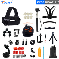 TUOWEI For Gopro Bicycle Bracket Selfie Stick Monopod Mount For Gopro Hero 5 4 3 For