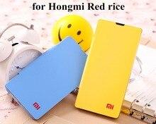 Мода кожаный чехол для Xiaomi Красный Рис Флип Чехол для Hongmi Редми 1 S Дело MIUI Просо Телефон Крышка Shell