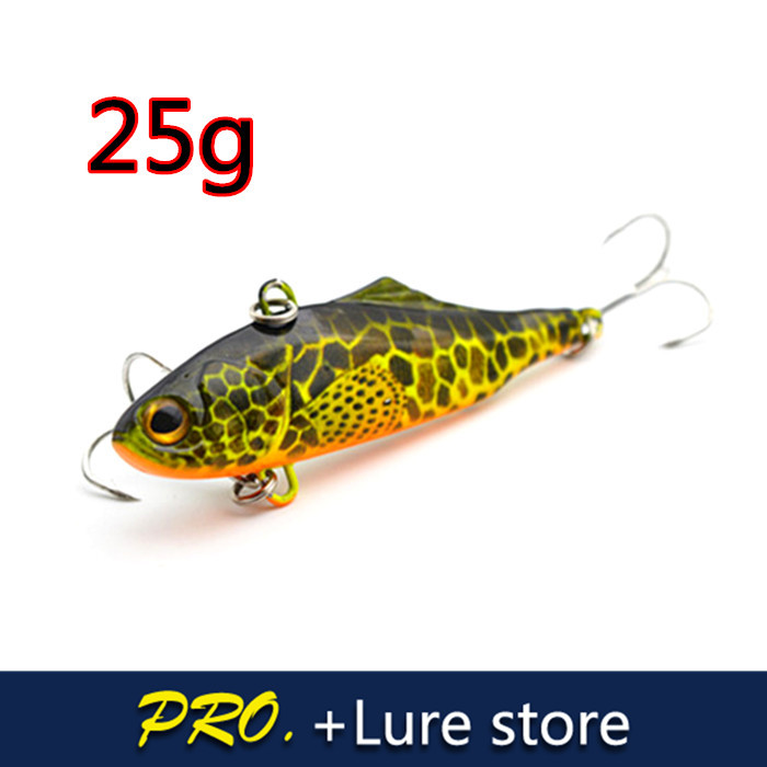 1pc 70mm 25g Deep saltwater fishing lure baits,hard Deep diver lure VIBE fishing baits ,Giant baits lure VIBE wobbler sea baits