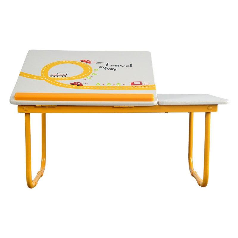 Mode Simple Coloré Pliant D'ordinateur Portable Table Étudiants Petit Bureau Lecture et D'apprentissage Bureau Lit Table