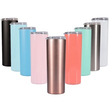 20OZ Thermos Bottle Stainless Steel Tumbler Vacuum Flask Tumber Wine Beer Tea Coffee Cup Mug in Stock