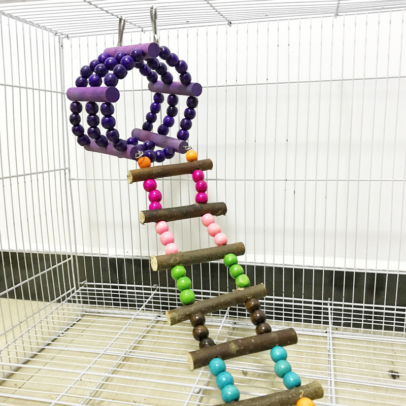 New Parrot Hamster Sugar Glider Climbing Ladder Toy Bird Funny Toys Parrot Training Toy Log Swing Hanging Bridge Toys  sc 1 st  AliExpress.com & New Parrot Hamster Sugar Glider Climbing Ladder Toy Bird Funny Toys ...