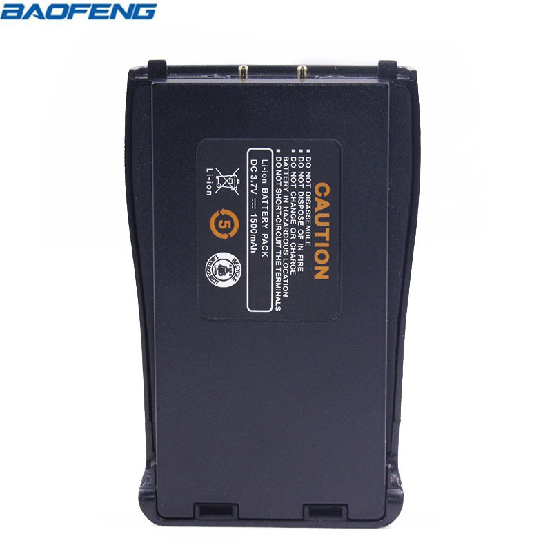 Original Baofeng BF-888S Spare Li-ion Battery 1500mAh DC 3.7V for BaoFeng BF-888S BF-666S BF-777S two way radio Walkie Talkie