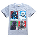 New children boys star wars clothing t-shirt girls kids nova star wars top t-shirt children summer t-shirt kids clothes H670