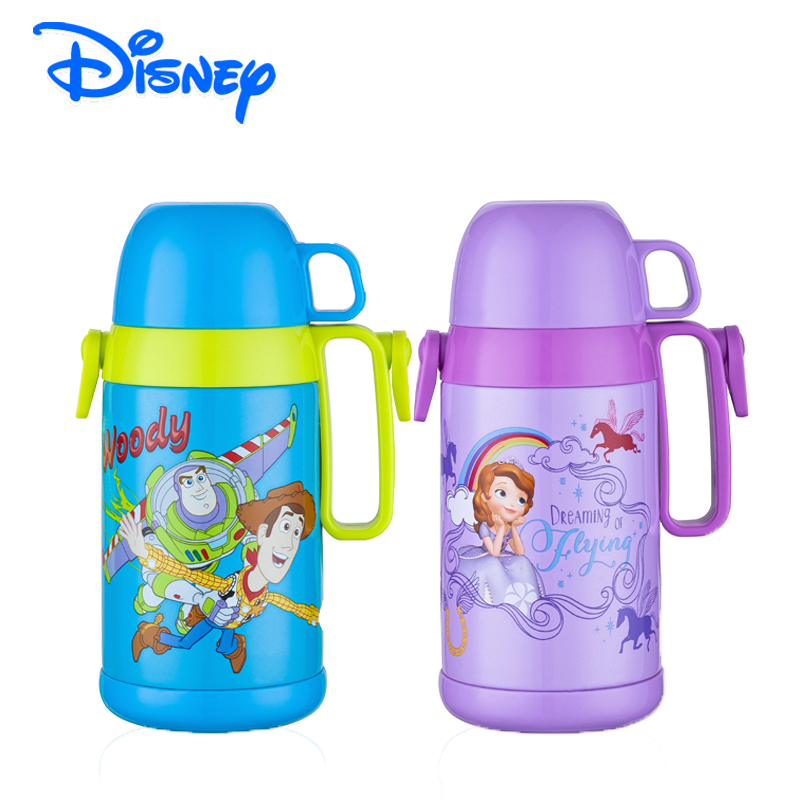Disney Woody 400ml Kids Thermos BPA Free 18 8 Stainless Steel Vacuum Insulated Children School Bottle