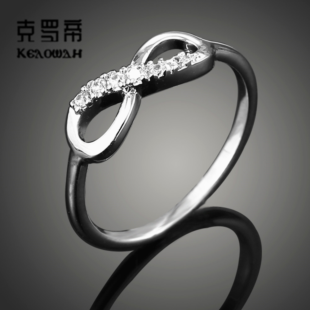 endless rings beautiful and love couple elegant