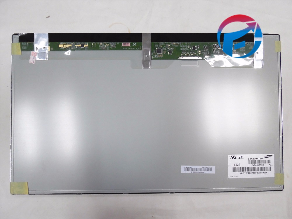 Hot Sale LTM200KT10 20 inch LCD Display Panel New LCD Screen For All-In-One PC 1 Year Warranty rm1 0037 000 original new pick up roller for 4200 4300 4250 4350 4700 cp4005 cp4025 cp4525 m4345 p4014 p4015