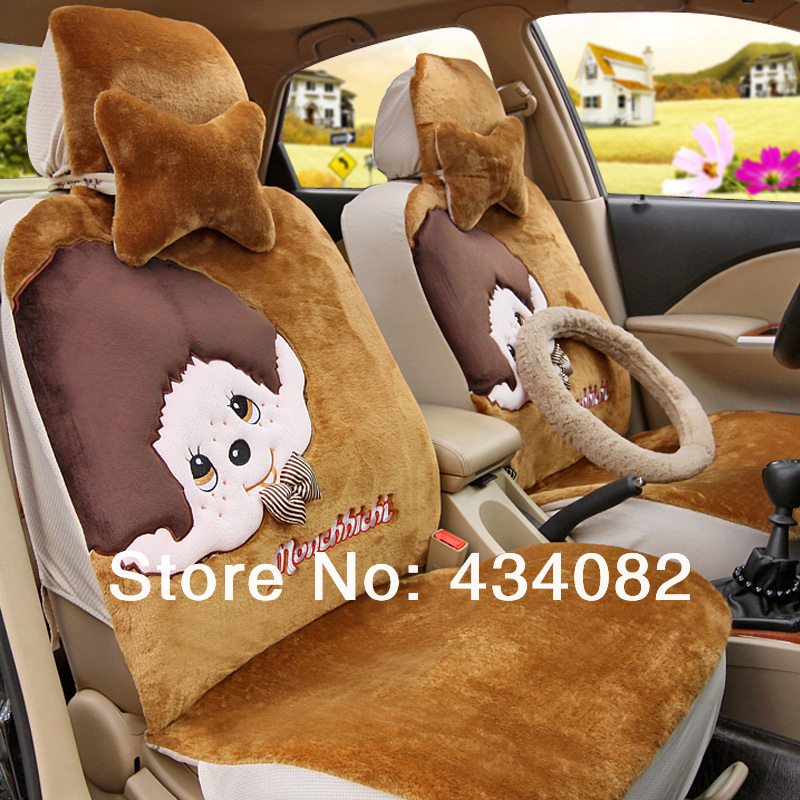 Superb Front And Bench A Set Car Seat Cover Set Short Wool Pretty Machost Co Dining Chair Design Ideas Machostcouk