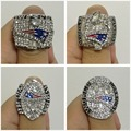 New Arrival 2001/2003/2004/2014 Replica Super Bowl New England Patriots Fans Championship Ring,size 8-14