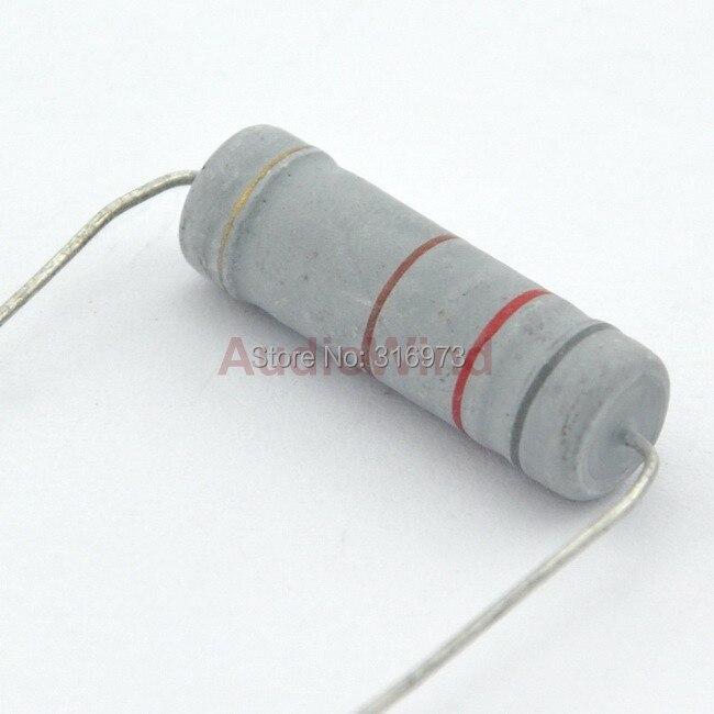 10 x 5W 700V 820 ohm Metal Oxide Film Resistors 5 Watt