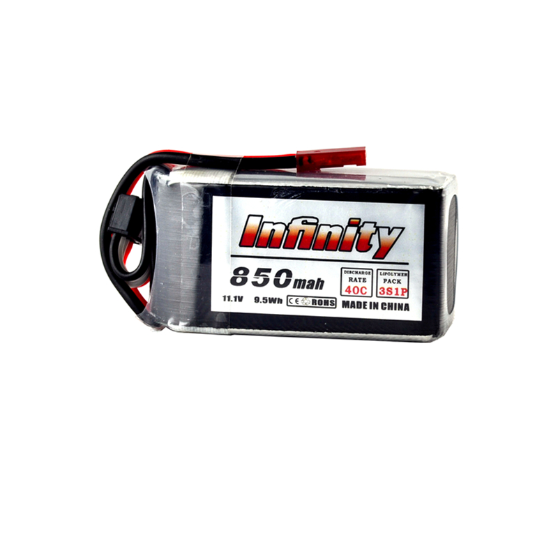 Infinity <font><b>850mAh</b></font> 40C 85C <font><b>3S</b></font> 4S 11.1V 14.8V <font><b>LiPo</b></font> Battery JST SY60 XT60 Plugs for RC FPV Multicopter Model Drone image