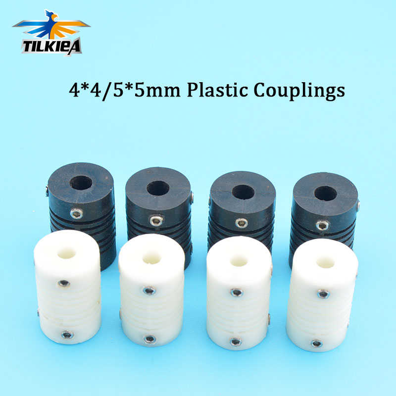 Rc Model Car Boat Plastic Couplings Elastic Nylon plastic Coupling Shaft