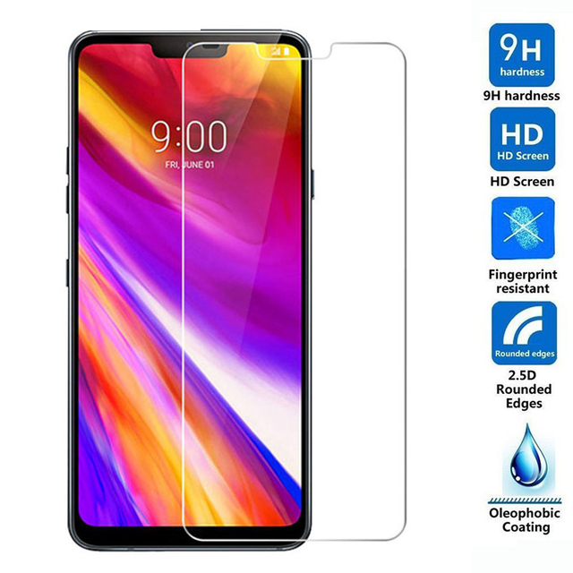 2.5D Tempered Glass For LG G7 Protective Film 9H Explosion-proof LCD Screen Protector For LG G7 ThinQ
