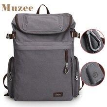 Muzee marca do vintage mochila grande capacidade masculino saco de bagagem lona sacos de viagem alta qualidade viagem duffle saco