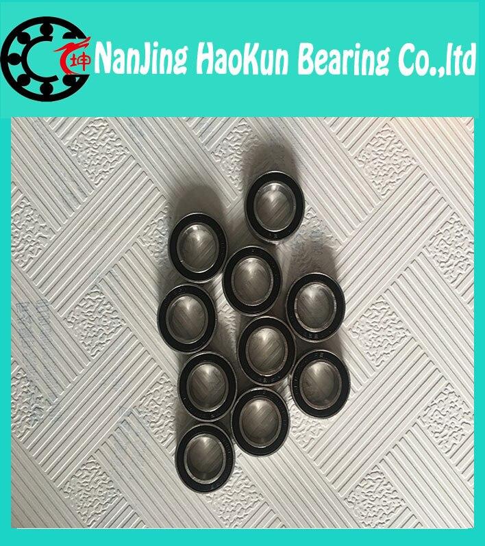 100pcs 6700-2RS 6700 6700RS 6700-2RZ chrome steel bearing GCR15 deep groove ball bearing 10x15x4mm