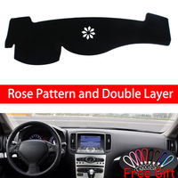 Rose Pattern For Infiniti G CLASS 2007 2008 2009 2010 2011 2012 2013 Car Stickers Car Decoration Car Accessories Car Decals