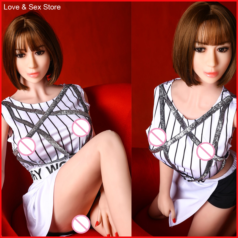 New 158cm Silicone Sex Doll For Men Full Size Lifelike Vagina Ass Breast Adult Product Love Doll Sexual Toy Feet Real Sex Doll pinklover 153cm chines adult erotica products full reality vagina sex love doll toy for men sex