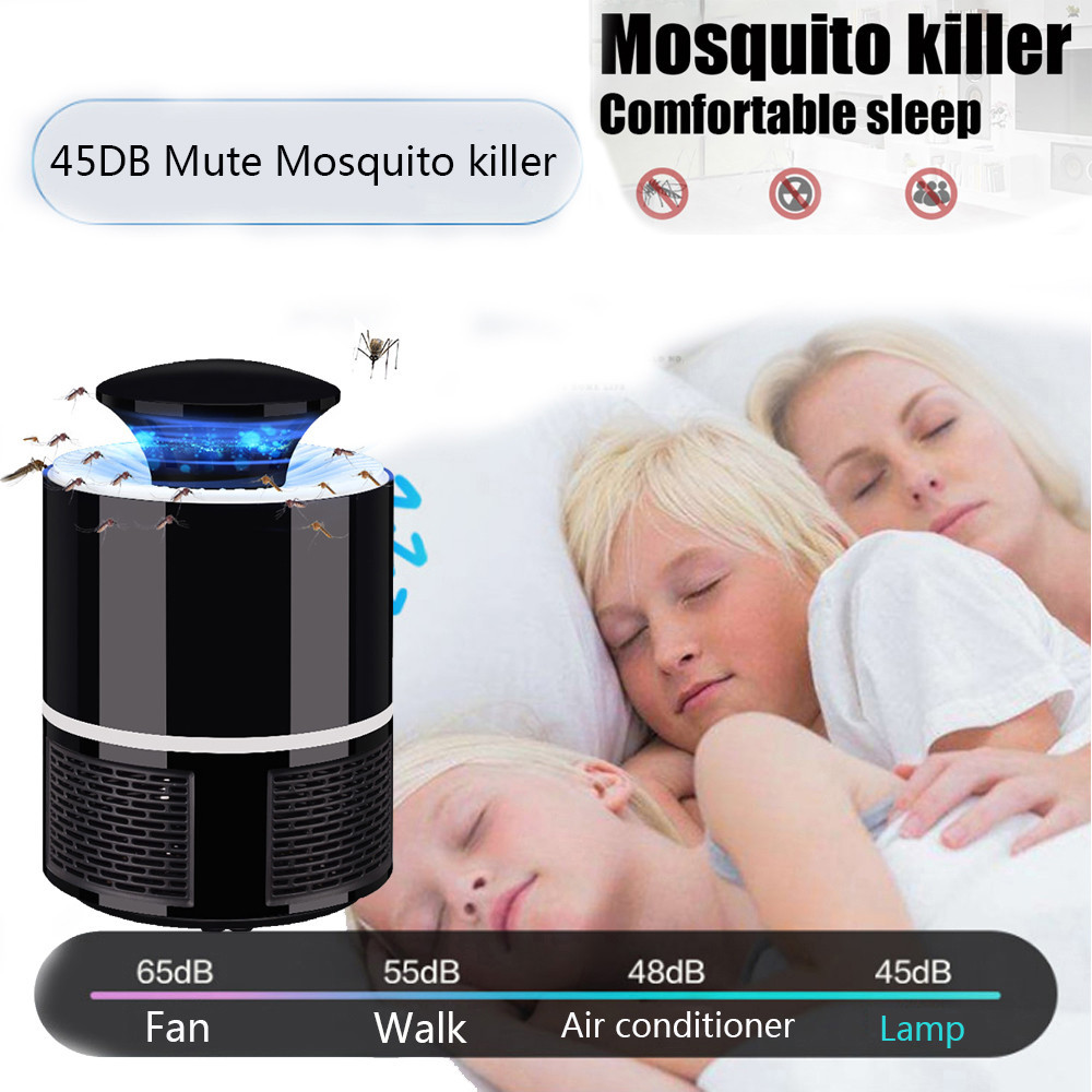Summer New Mosquito Repeller Kids Bedroom Electric Fly Bug Zapper Mosquito Insect Killer LED Light Trap Lamp Pest Control