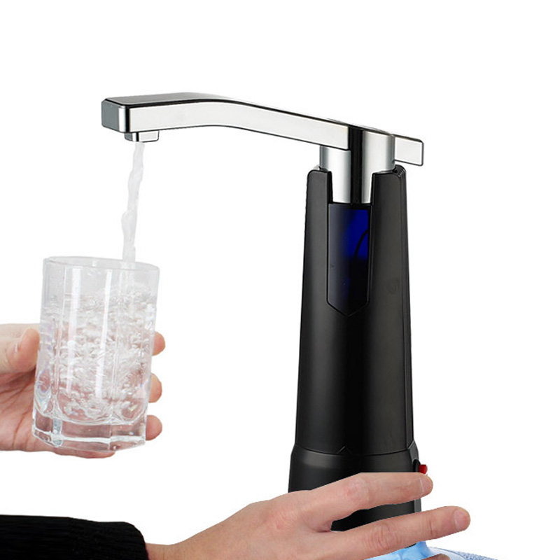 Electric Water Bottle Pump Dispenser Healthy Drinking Water Bottles Suction Unit Water Dispenser Kitchen Tools jiqi bottled bucket water dispenser fountain electric automatic drinking water pressure pump suction drinkware tools with filter