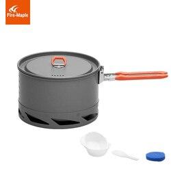 Fire Maple Heat Exchanger Camping Pot Outdoor Cookware Cooking Kettle 1.5L/1L  FMC-K2/FMC-XK6