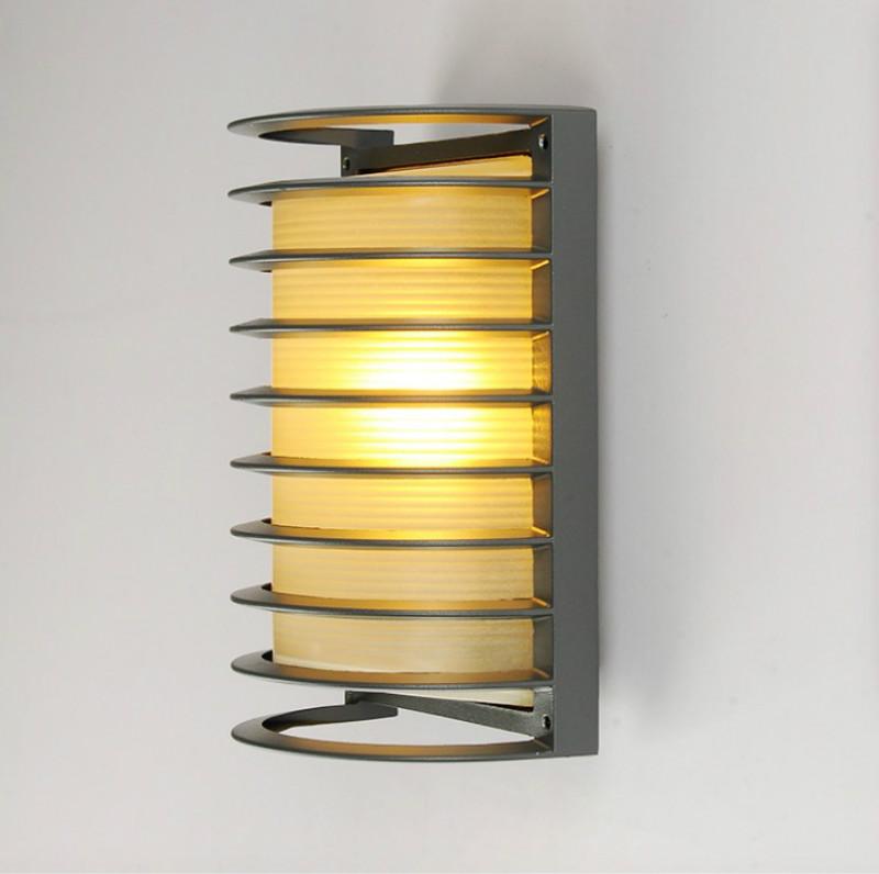 bombilla led e montaje al aire libre con parrilla de iluminacin exterior hecho de aluminio