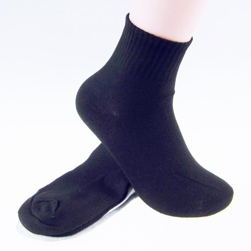 1Pair Cotton classic business brand man socks , mens socks spring High quality Classic black and white gray color socks