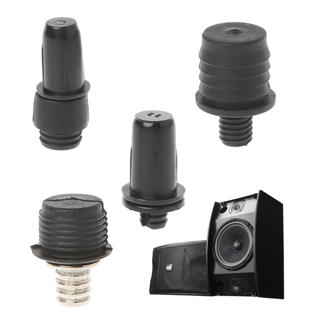 10Pair DIY Audio Speaker Buckles Plastic Speaker Grill Peg Ball Socket Fastener Screw Part Kit for Speaker Accessories