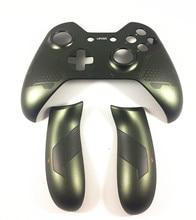 ل ذراع تحكم أكس بوكس واحد الإسكان استبدال العلوي الجبهة شل مقبض حقيبة غطاء الجانب قبضة الخلفية Halo 5 Guardians طبعة محدودة