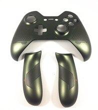 Dla kontroler do Xbox one zamiennik górna przednia obudowa rączka do walizki pokrywa boczna tylny uchwyt Halo 5 strażnicy edycja limitowana