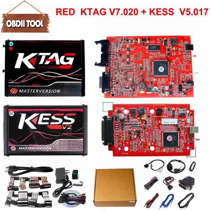 DHL Free Ktag 7.020 ECU Chip Tuning K TAG V7.020 V2.23 Master Version For Car Truck KTAG ECU Programming Tool ECM As Gift slide wallet
