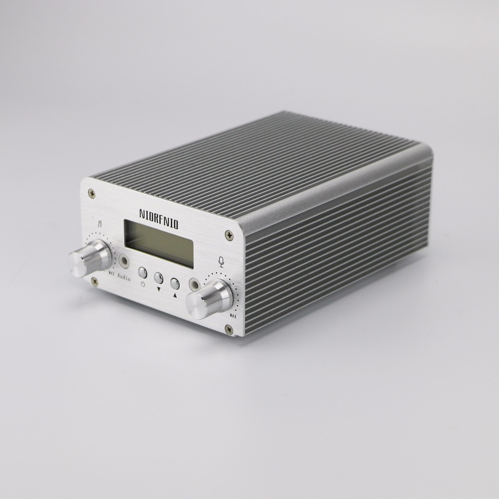 Hot sale NIORFNIO NIO-T15B 5W/15W Wireless FM Radio Station Transmitter 87-108 MHz Hot sale NIORFNIO NIO-T15B 5W/15W Wireless FM Radio Station Transmitter 87-108 MHz