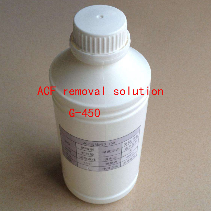 Original imported ACF removal solution G430 G450 G750 Large size LCD cable Rework Remover 100ml 500ml
