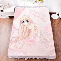Anime Amagi Brilliant Park Bed Bedding Sheet Sexy 3d Bedsheet Manga Duvet Covers Fitted Carpet Quilt Flannel Mattress
