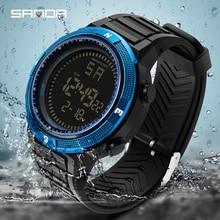 цена на Montre Homme Sport Watch Men Electronic LED Digital Wrist Watches For Man Waterproof Wristwatch Relogio Masculino