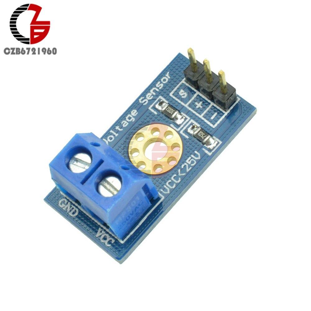 DC 12V 24V Voltage Sensor Module Voltage Detection Induction Board For Arduino Electronic Bricks Smart Robot DIY Kit 0-25V