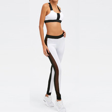 X-FIT Women's Yoga Clothes Set Athletic Gym Dance Outfit Sports Suits 2 Piece Exercise Workout Jogging Suits Pants for Female