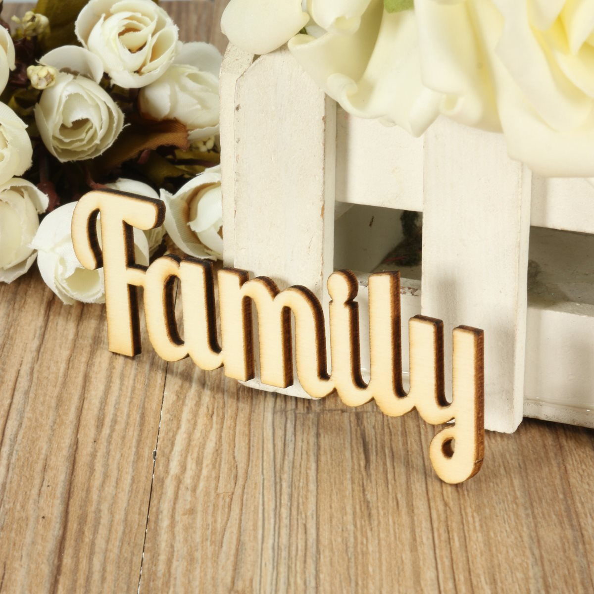 Ratings Feedback For Gavan Wood Painting Decorating: Popular Family Wooden Letters-Buy Cheap Family Wooden