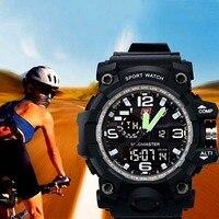 TTLIFE Brand Sports Watches 50m Waterproof Fashion Casual Quartz Digital Watch LED Multifunction Wristwatches Relogio Masculino