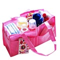 Durable Nappy Diaper Bags Organizer Mummy Bags for Mom Baby Bottle Multifunctional Two Color YY0216