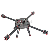 FPV CNC 750mm Radstand 25mm rohr kohlefaser Quadcopter Rahmen kit mit krabben Fahrwerk