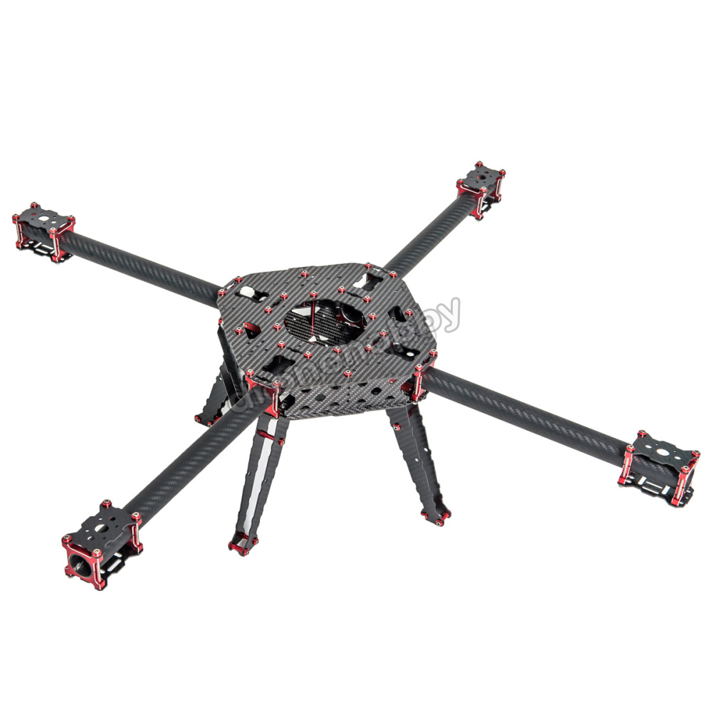 FPV CNC 750mm Wheelbase 25mm tube Carbon fiber Quadcopter Frame kit with crab Landing Gear стоимость