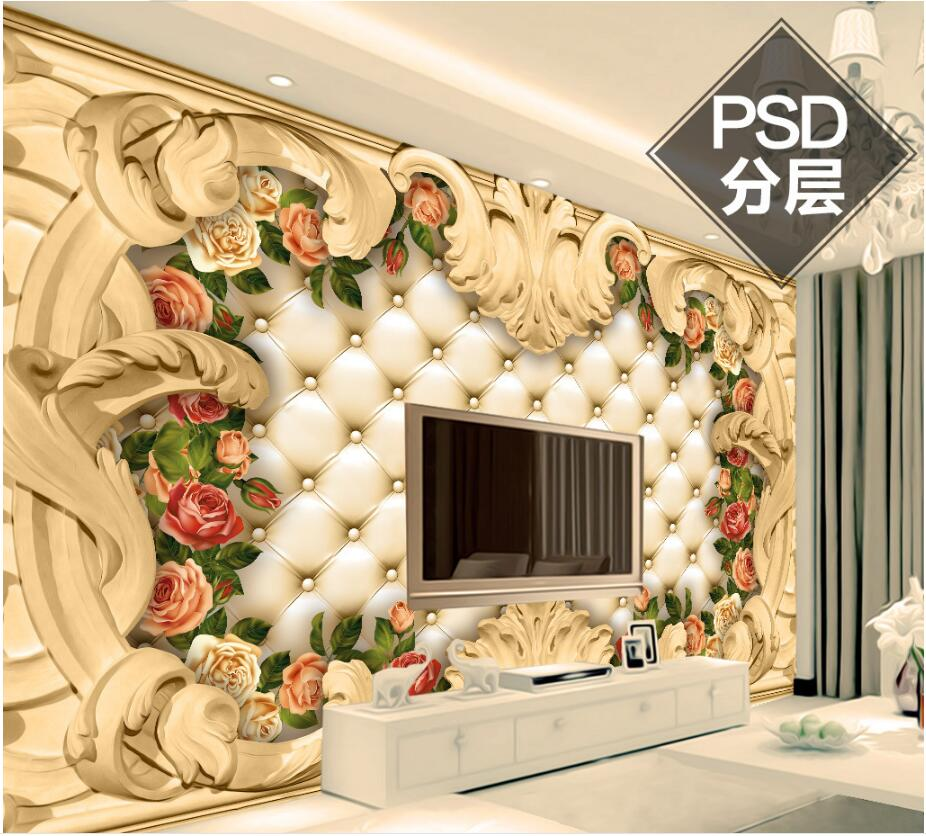 Wallpapers Flight Tracker Beibehang Papier Peint 3d Beautiful Luxury European Diamond Jewelry Floral Wallpaper Sofa Background Luxury Adhesive Wallpaper For Improving Blood Circulation Painting Supplies & Wall Treatments