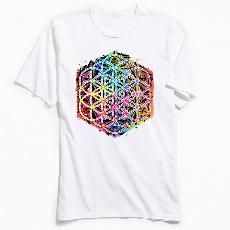 Printed Gift Tshirt For Adult Summer Men 39 s Tops amp Tees Geometric Design Autumn All Cotton O Neck Tee Shirts Fashion T Shirts in T Shirts from Men 39 s Clothing