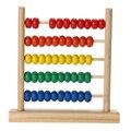 Bebé Juguete Pequeño Ábaco De Madera Artesanal de Juguetes Educativos Para Niños De Madera De Aprendizaje Temprano Para Niños Juguete Matemáticas