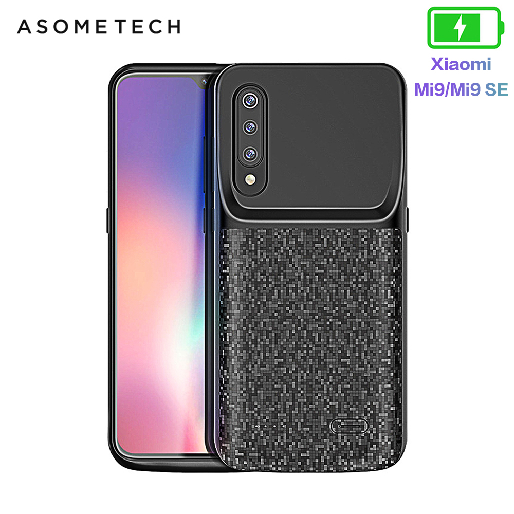4700mAh Battery Case For Xiaomi Mi 9 Power Bank Battery Charger Case For Xiaomi 9 External Battery Powerbank Case For Mi 9 SE
