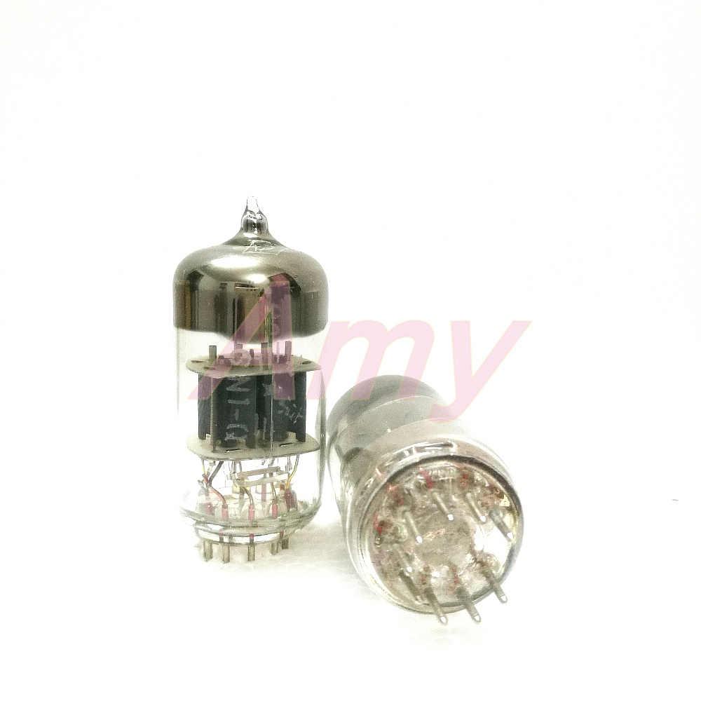 2 шт./лот (длительный срок службы трубки Пекинский 6N1-Q прямые поколения ECC85/6H1/6N1 лихорадка ядовитый звук трубки