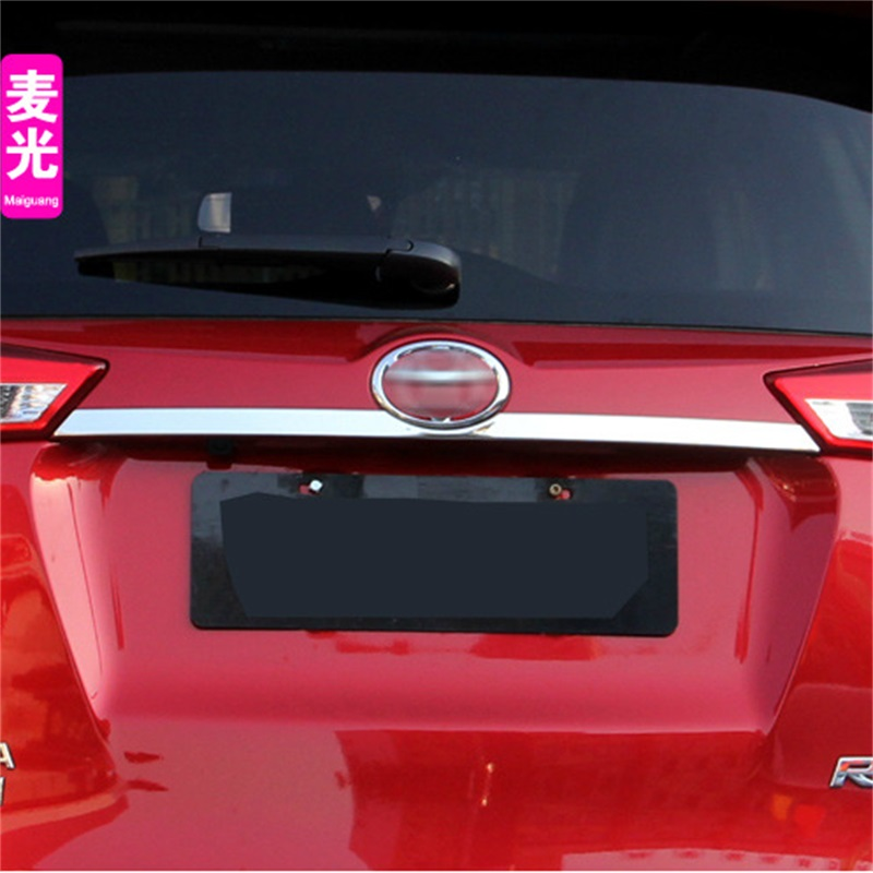 Auto Parts with High Quality ABS Rear Trunk Trim For font b Toyota b font RAV4